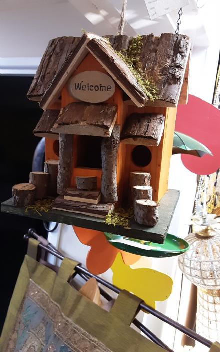 Welcome Bird House